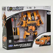 Трансформер RoadBot Ford Mustang FR 500 C, муз, свет, на батарейке, 50170 (12)