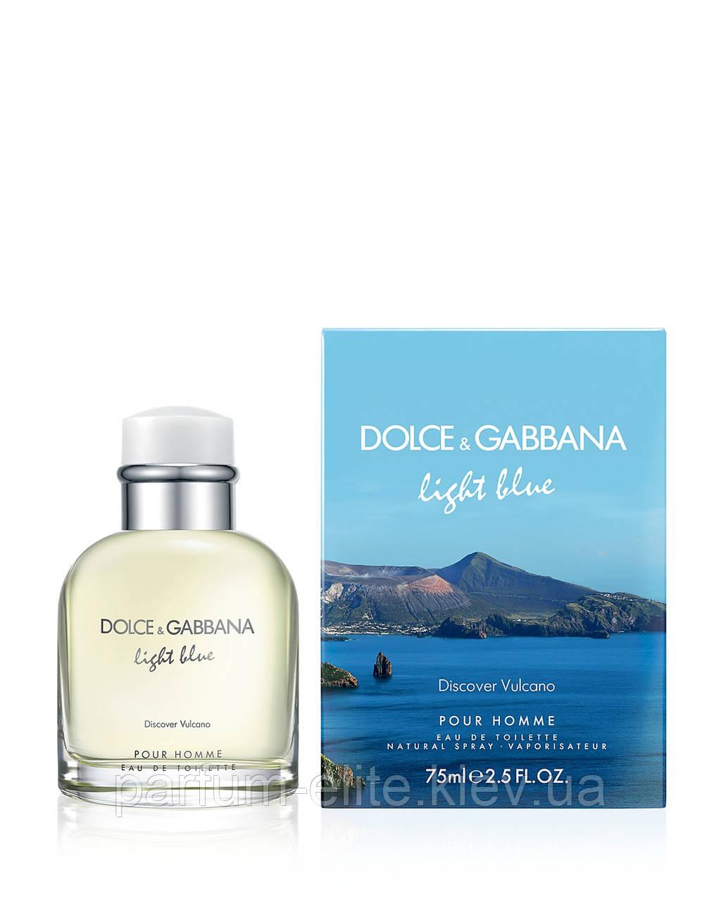 Мужская туалетная вода Dolce & Gabbana Light Blue Discover Vulcano Pour Homme 125ml(test)