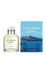 Мужская туалетная вода Dolce & Gabbana Light Blue Discover Vulcano Pour Homme 125ml(test), фото 1