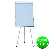 Флипчарт магн. для письма маркером, на тренозі JOBMAX, 70х100cм, ал. рамка BM.0011