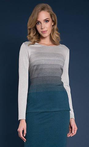 Женская блуза Sinope Zaps изумрудного цвета, коллекция осень-зима 2018-2019