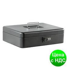 Шкатулка для денег 30см (матовая), черная BM.0402