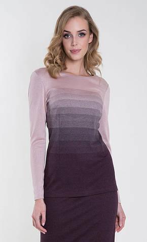 Женская блуза Sinope Zaps баклажанного цвета, коллекция осень-зима 2018-2019