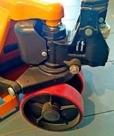 Тележка гидравлическая для склада на резинеMB-A25 Германия
