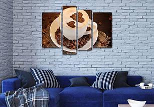 Картины для кухни купить, на Холсте син., 65x85 см, (40x20-2/65х18/50x18), фото 3