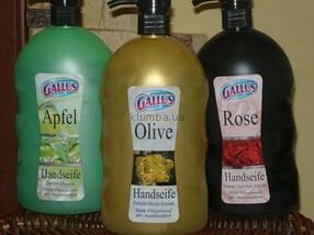 Жидкое мыло GALLUS 1л (Роза, Оливка, Яблоко)