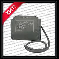 Манжета для автоматических тонометров (22-32 см) к Little Doctor, Microlife, Omron на 1 трубку с кольцом, фото 1