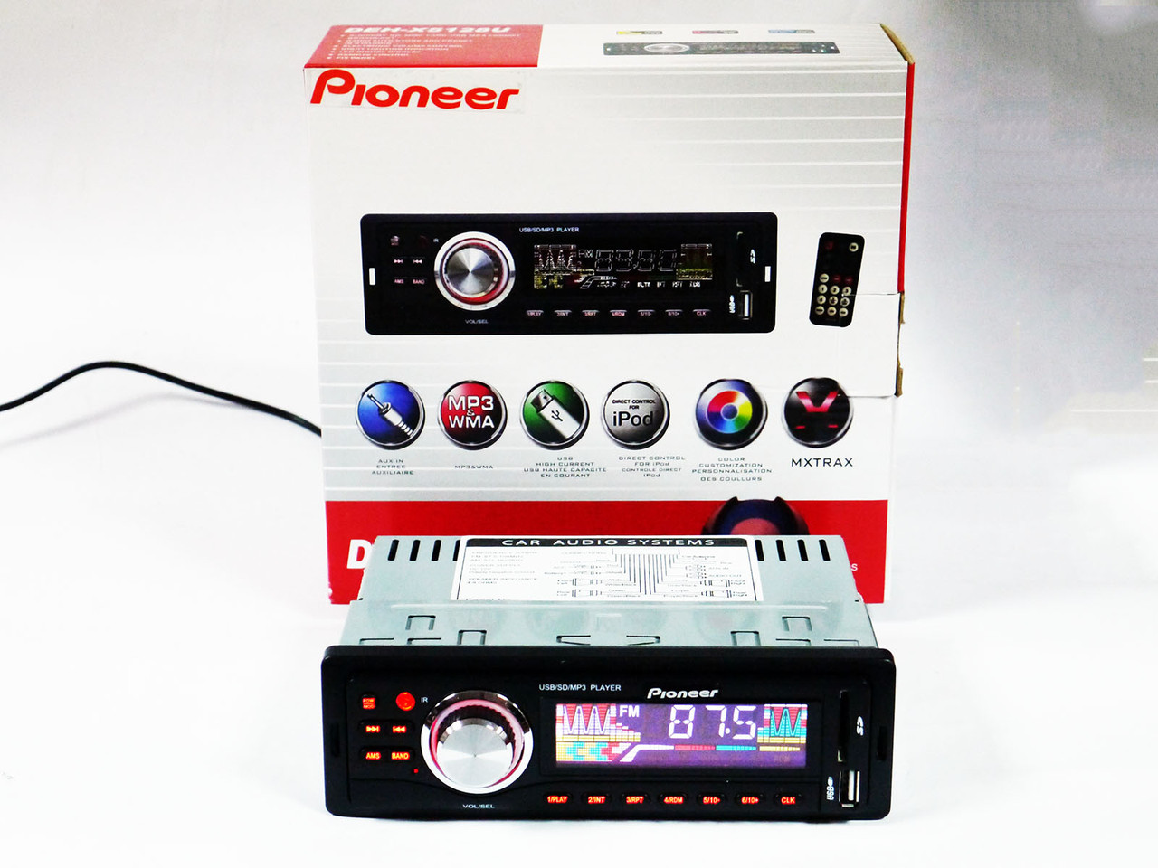 Автомагнитола Pioneer DEH-5128UB Usb+Sd+Fm+Aux+ пульт, фото 1
