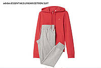 Спортивный костюм женский Adidas ESSENTIALS LINEAR COTTON оригинал размер L,М