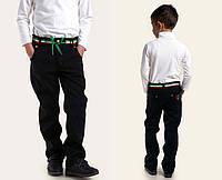 Детские утепленные брюки на флисе