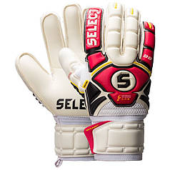 Вратарские перчатки Select Goalkeeper Gloves 04 Hand Guard (601040-321) Red/White