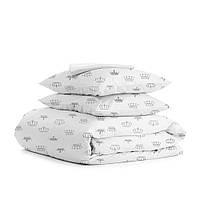 Комплект взрослого постельного белья CROWN