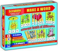 "Гра ""Scrabble. Make a word (англ.) (в коробке)"