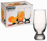 Набор стаканов Pasabahce Aquatic высокий 6шт 265мл 42978, фото 1