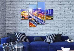 Картины на кухню фото, на Холсте син., 65x80 см, (25x18-2/55х18-2), фото 3
