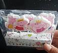 Свечи для торта свинка пеппа в наборе 5 шт., фото 2