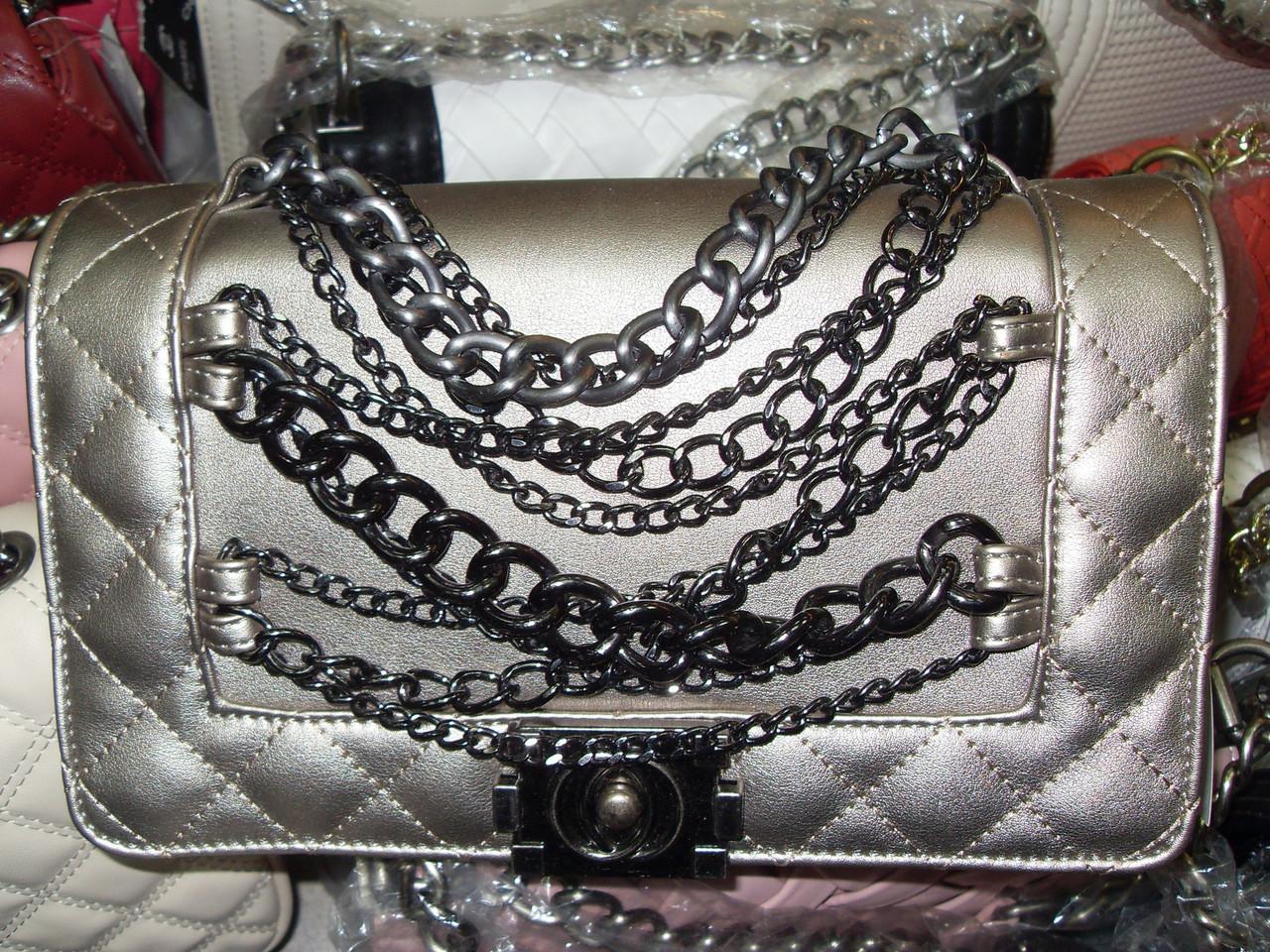 Женская сумка клатч Chanel (Шанель) 2094 цвет кофе  продажа, цена в ... 5abb1d36187