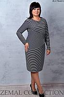Платье большого размера  ПЛ3-750 р.50-56, фото 1