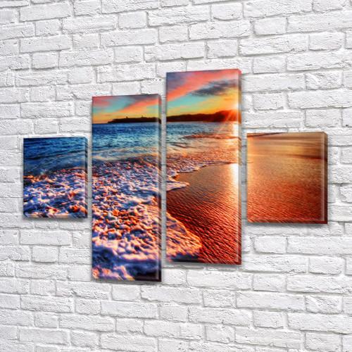 Купить картину модульные, на Холсте син., 65x80 см, (25x18-2/55х18-2)