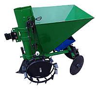 Картофелесажатель мотоблочный  П-1ЦУ (зеленый)