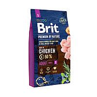 Brit Premium Adult S 3кг- корм для собак мелких пород