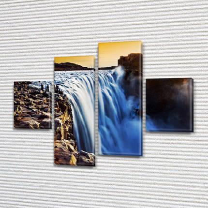 Купити картину модульную на Холсте син., 65x80 см, (25x18-2/55х18-2), фото 2
