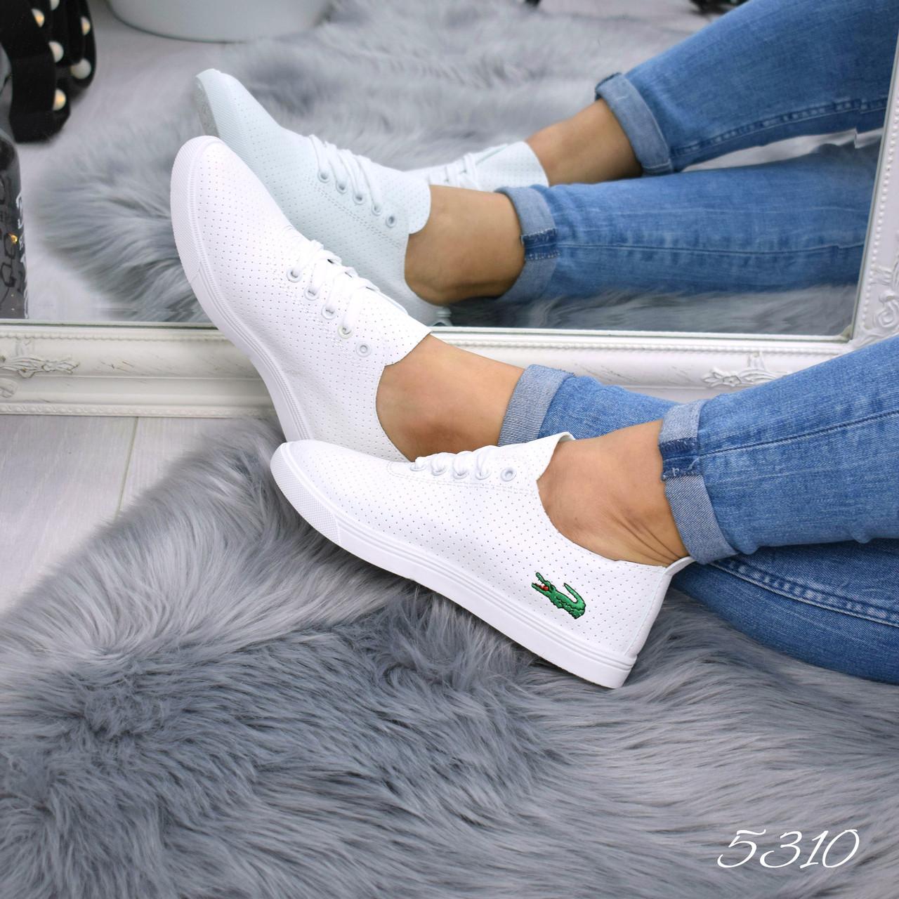 8e926c9cadb2 Кеды женские Lacoste белые 5310, мокасины женские - Интернет - магазин  MaxTrade в Днепре