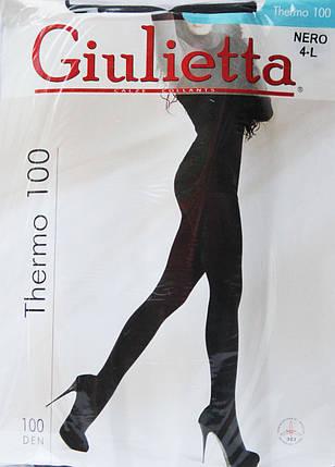 Колготки Giulia ( Джулия ) Термо 100, фото 2