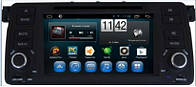 Магнитола  BMW 3 1998-2006 (E46). Kaier KR-7072 Android 4-х ядерный процессор