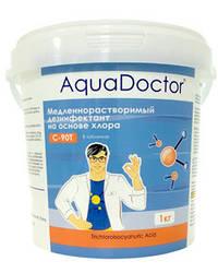 Медленный хлор AquaDoctor C90-T 1 кг (в таблетках по 200 г)