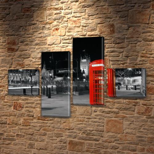 Картины на стену купить модульные, на Холсте син., 60x85 см, (18x20-2/50х18-2)