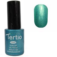 Гель-лак Tertio 073 (цвет тифани с микроблеском) 10мл
