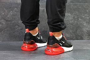 Летние мужские кроссовки Nike Air Max 270,Black/Red 40,45р, фото 3