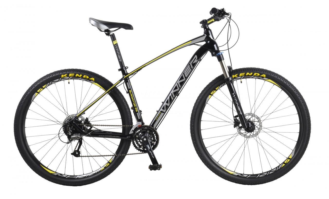 Велосипед горный Winner Gladiator 29  Черный