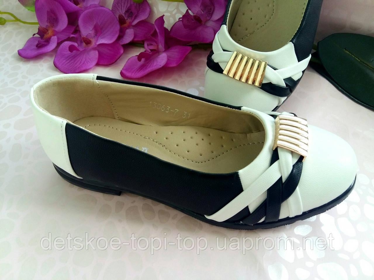 Детские туфли для девочки, размер 32,33,34