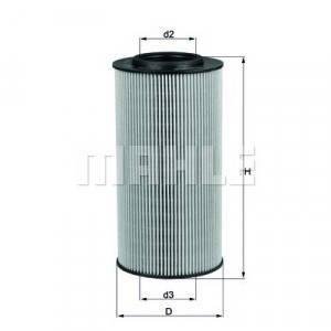 Фильтр маслянный DAF85CF XF105 вставка 1629393, 1643070