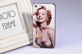 Яскравий витончений чохол iphone 5/5S Мерлін Монро