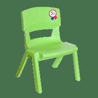Стілець дитячий Irak Plastik Jumbo №1 зелений