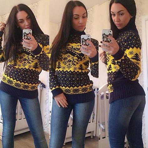 Женский тёплый свитер , фото 2