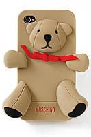 Силиконовый чехол накладка MOSCHINO для iPhone 5 / 5s