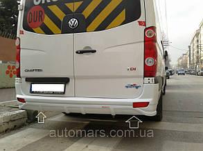 Накладка на бампер задний Volkswagen Crafter