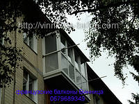 Обшивка балконов сайдингом в Виннице