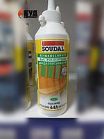 Soudal 64A Быстросохнущий клей на основе ПВА для древесины и картона 250 мг (D2)
