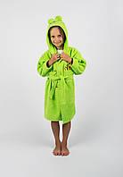 Халат детский Винни Пух 5-6 лет зеленый Lotus