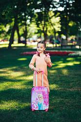 Детские чемоданы 4 колеса 40-48 обьем от 20 до 30 литров