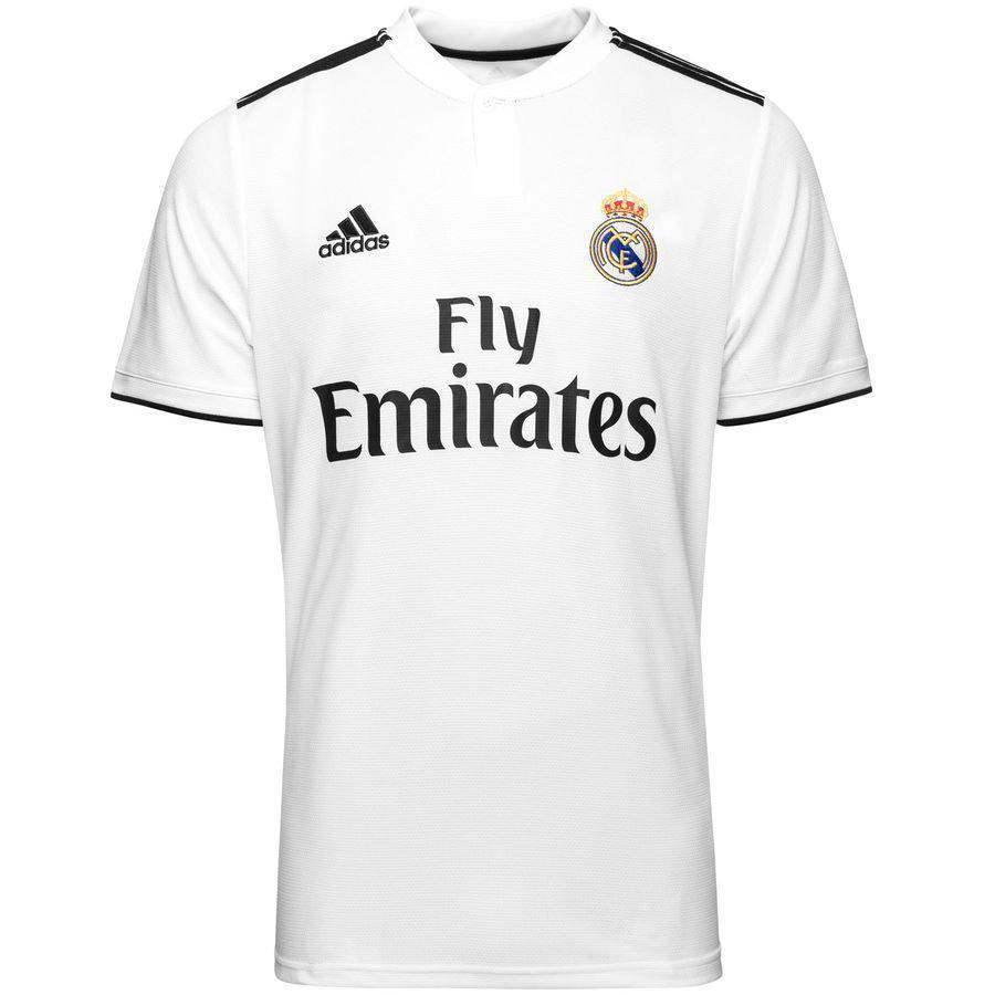 ORIGINAL Adidas Детская футболка Реал мадрид , основная, сезон 2018/19