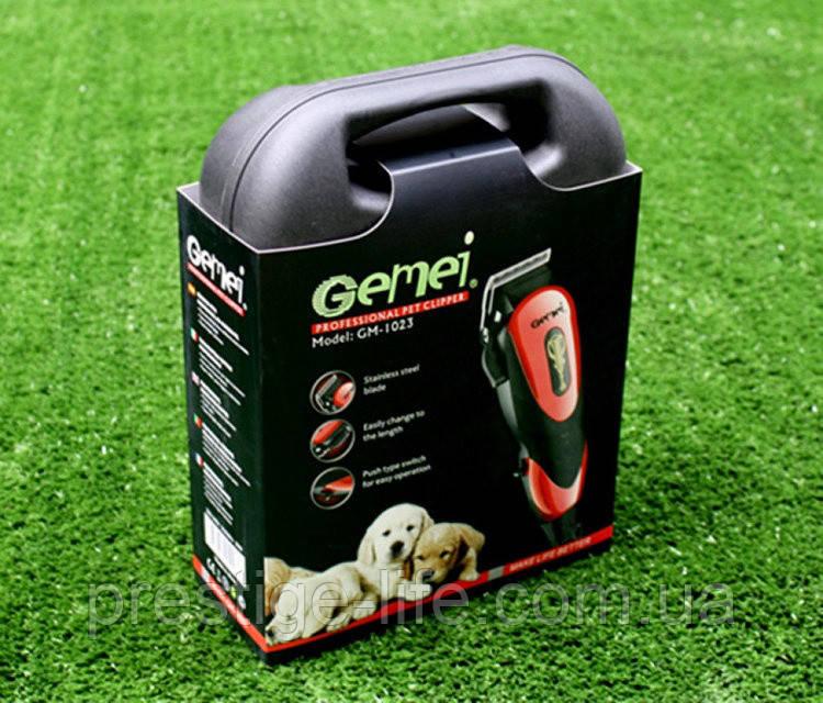 Gemei 1023 Машинка для стрижки собак и котов от сети