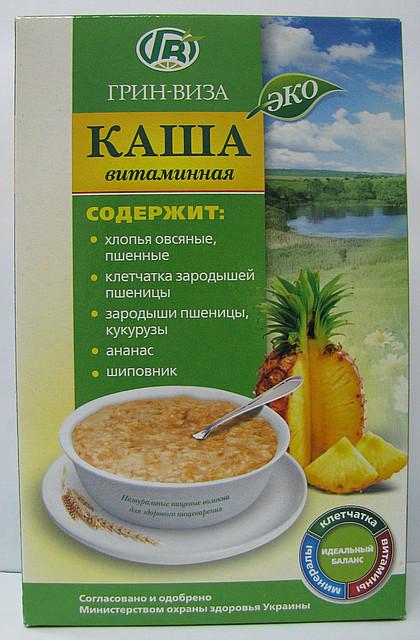 Эко-каша Витаминная - 350 г - Грин-Виза  // Еко каша Вітамінна - 350 г  Грін Віза