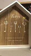 Ключница деревянная Key