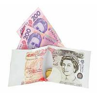 Кошелек, бумажник, портмоне, 50 фунтов стерлингов